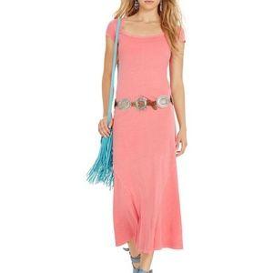 Polo Ralph Lauren Cotton  T SHIRT MAXI DRESS NEW